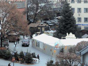 Webcam auf dem Weihnachtsmarkt in Ravensburg